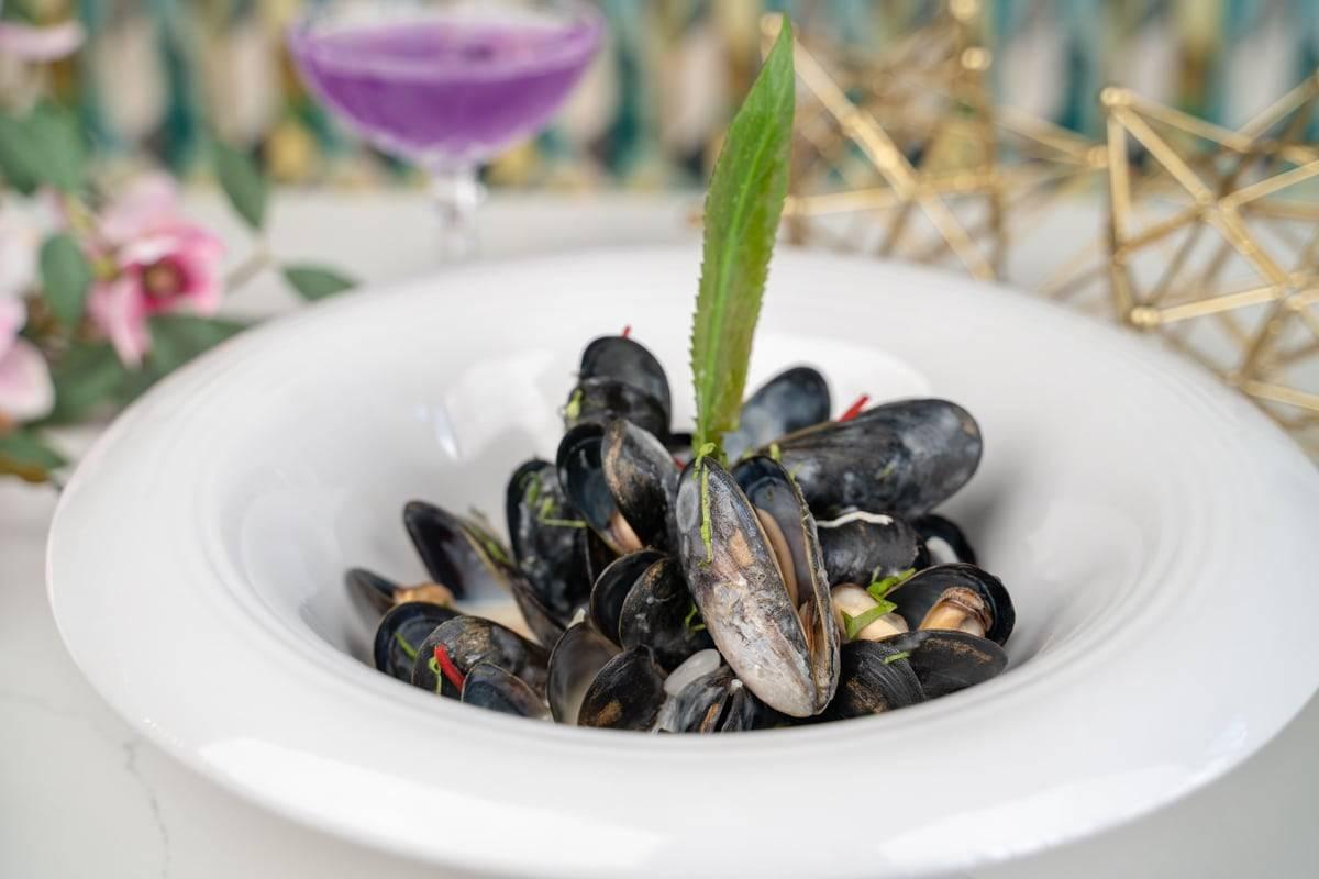 Tom Kha Mussels
